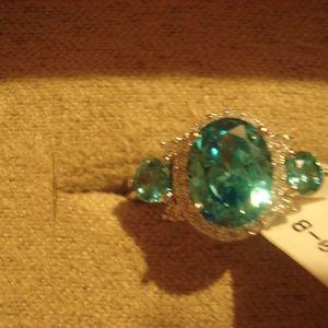 JTV size 8 Tourmeline Ring